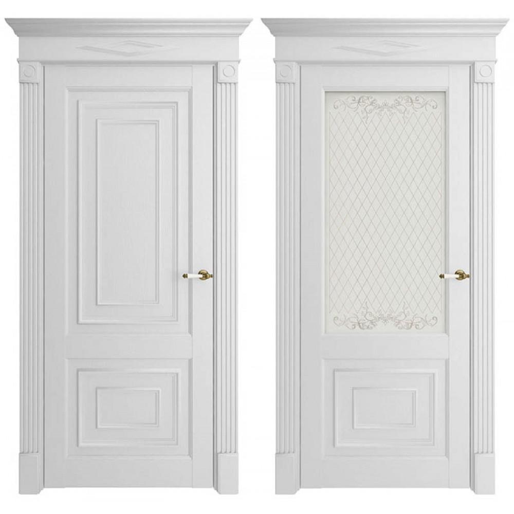 Межкомнатная дверь Экошпон 62002 Белая