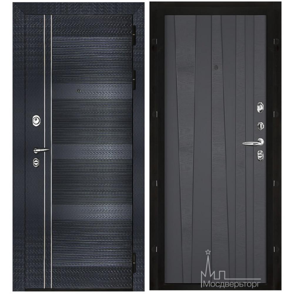 Входная дверь Сенатор-Карбон панели шпон дуба