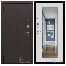 Входная дверь Вектор Лофт с Зеркалом