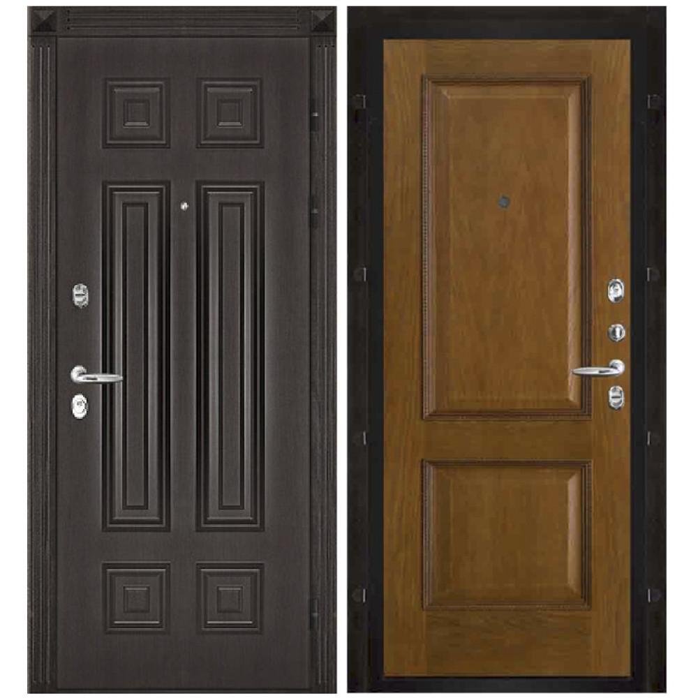 Входная дверь Сенатор-Марсель панели шпон дуба