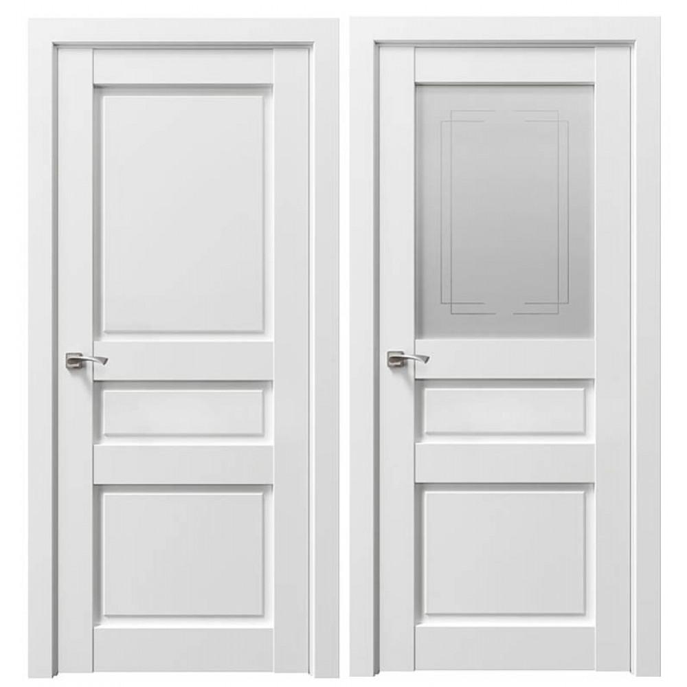 Межкомнатная дверь Сицилия 90002 Снежная королева
