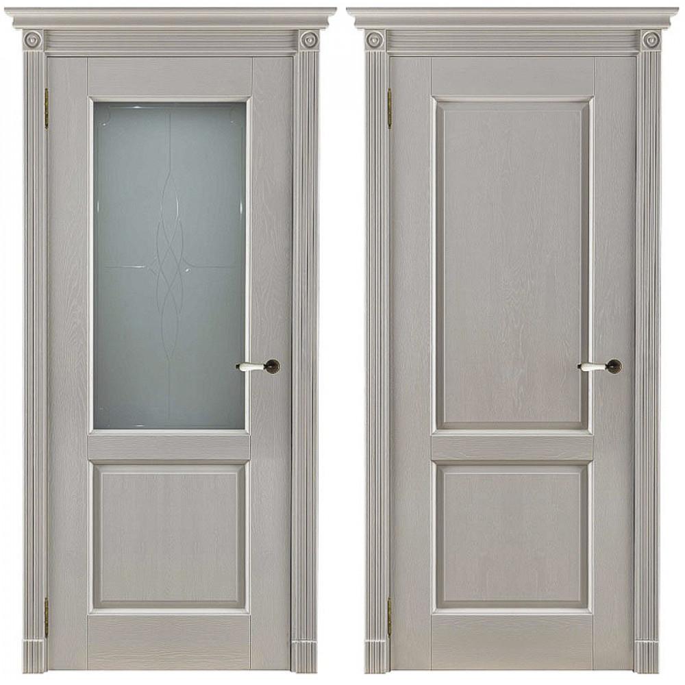 Межкомнатная дверь Селена массив дуба