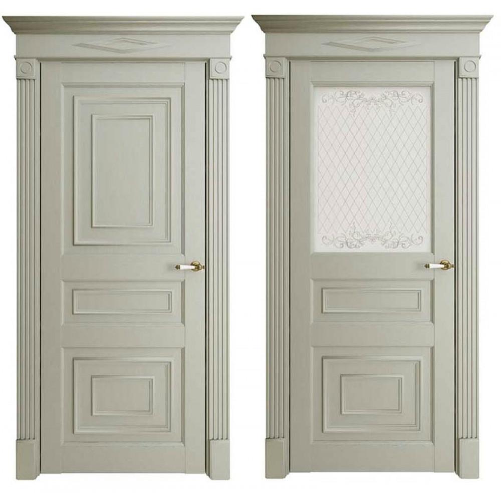 Межкомнатная дверь Экошпон Florence 62001 Серая