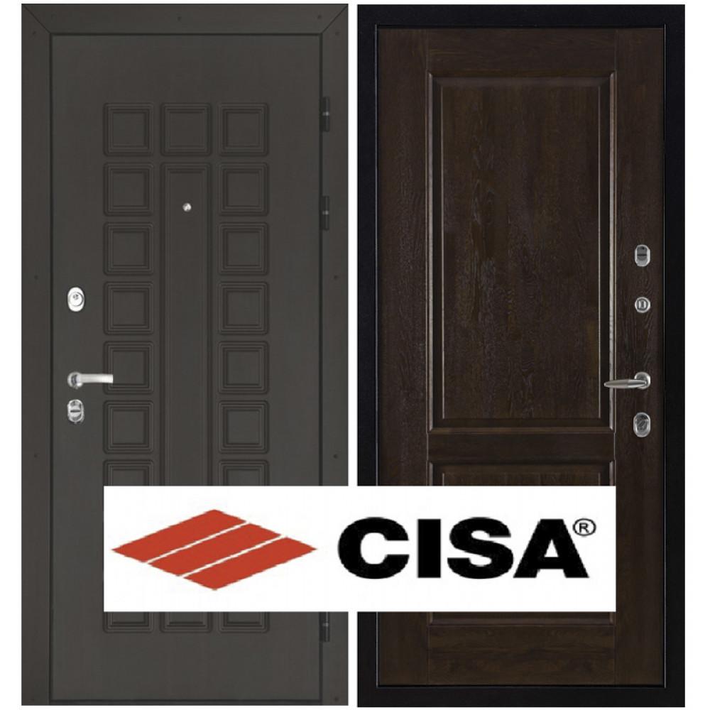 Входная дверь Сенатор Cisa, панели массив дуба