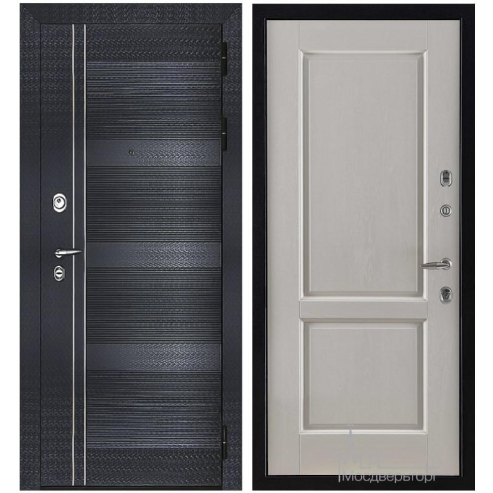 Входная дверь Сенатор-Карбон, панели массив дуба