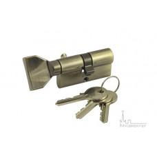 Цилиндр ключ-вертушка VC60-5 AB бронза