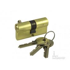 Цилиндр ключ-ключ V60-5 SB золото