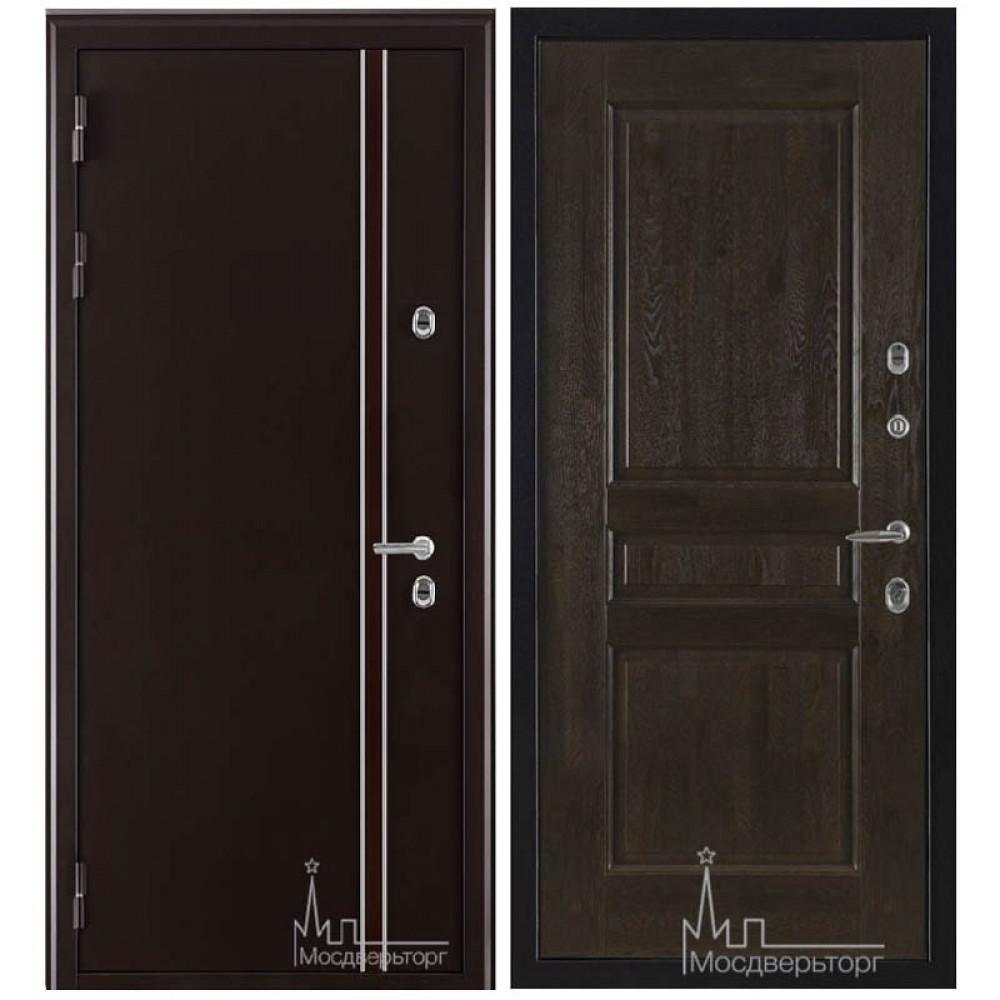 Дверь Норд (терморазрыв) панели Массив дуба
