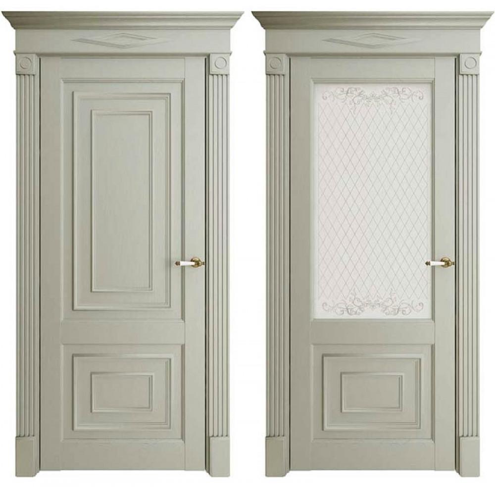 Межкомнатная дверь Экошпон Florence 62002 Серая