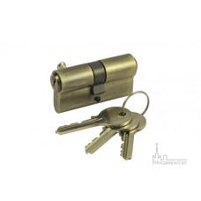 Цилиндр ключ-ключ V60-5 AB бронза