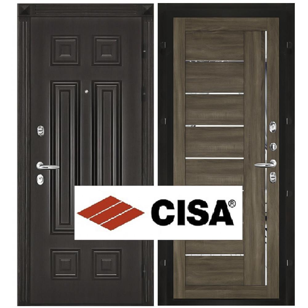 """Входная дверь Сенатор-Марсель с замком """"Cisa"""""""