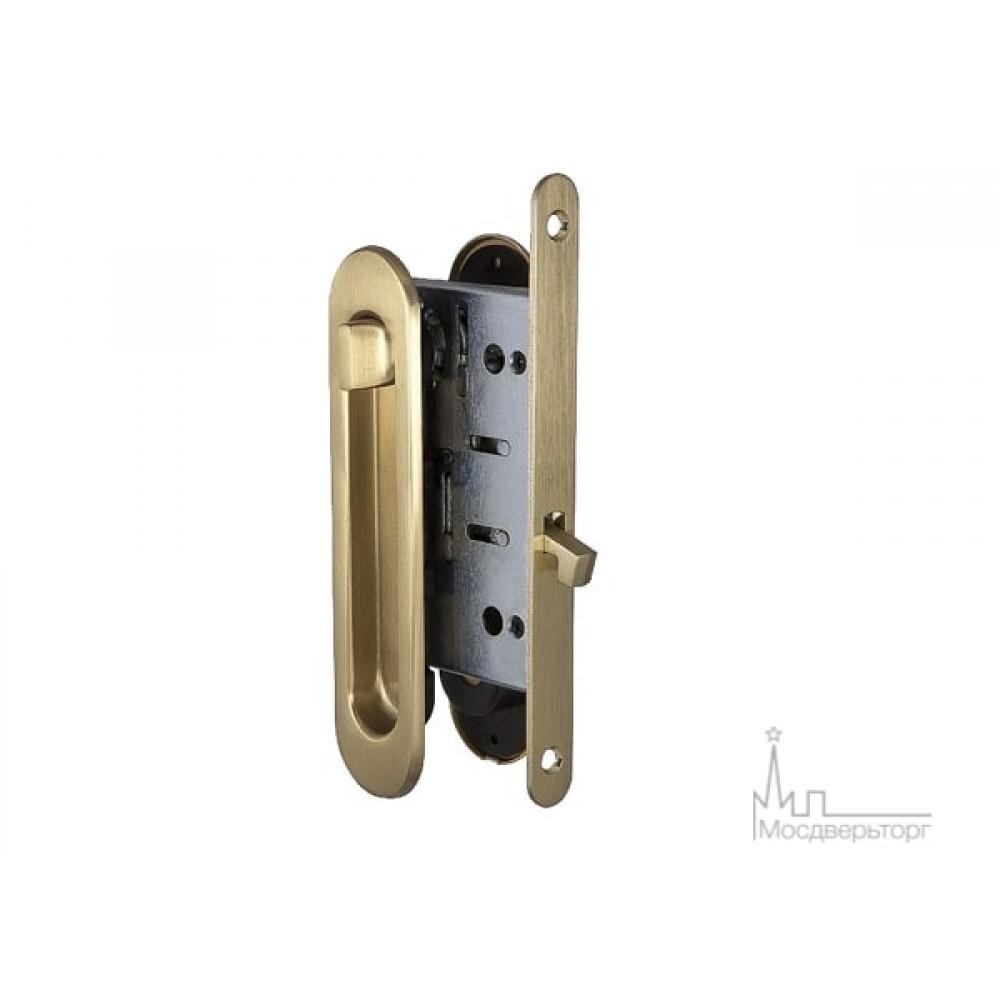 Замок для дверей купе SDL-05 SB золото