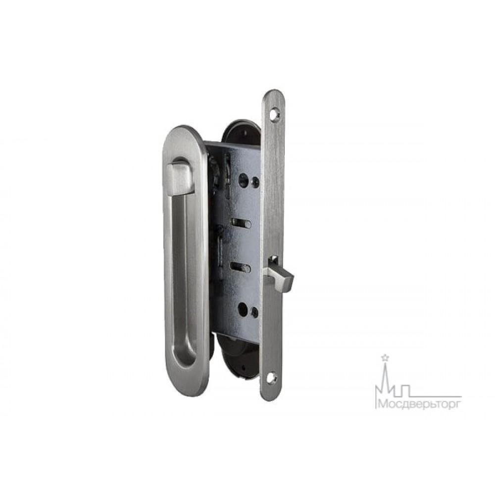 Замок для дверей купе SDL-05 SN никель