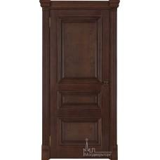 Межкомнатная дверь Барселона, дуб Brandy, глухая