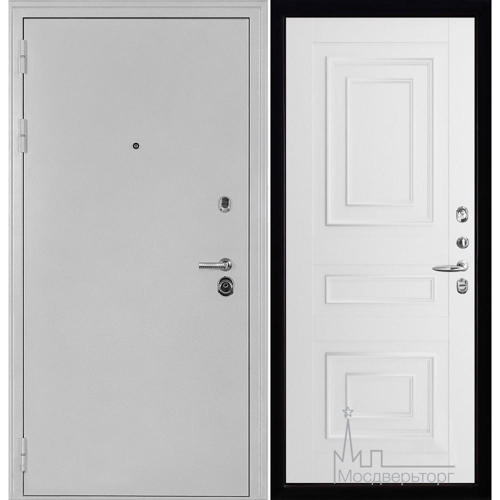Колизей белое серебро панель 62001 серена белый