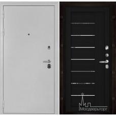 Колизей белое серебро панель 2110 Шоко велюр с зеркальными вставками