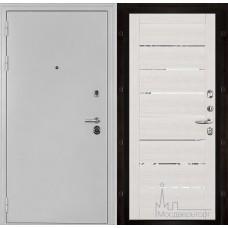 Колизей белое серебро панель 2125 Капучино велюр с зеркальными вставками