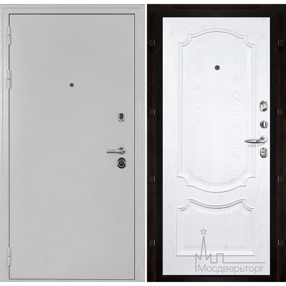Колизей белое серебро панель Монако Ясень жемчуг