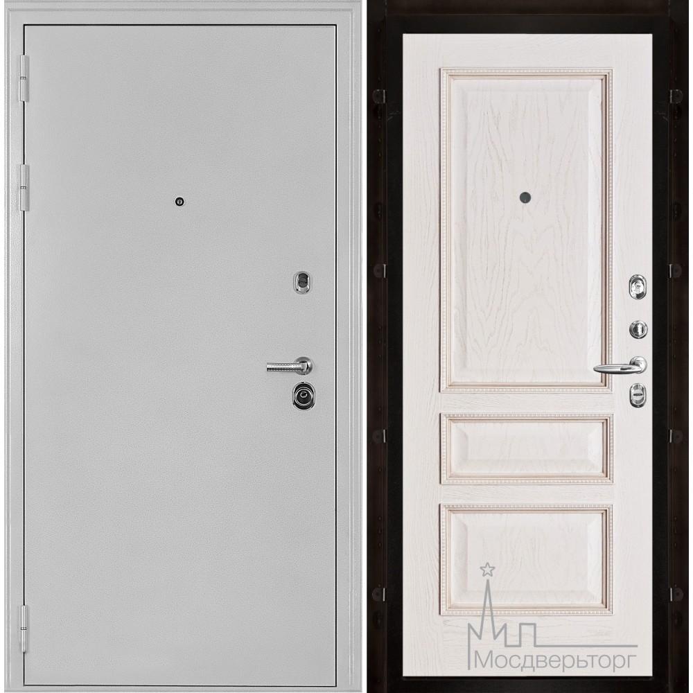 Колизей белое серебро панель Вена Белая патина тон 17
