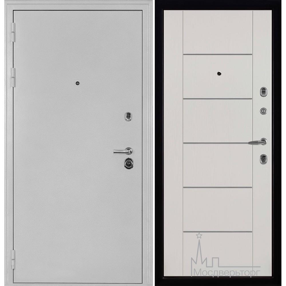 Колизей белое серебро панель Лайт МD - 003 Белый ясень