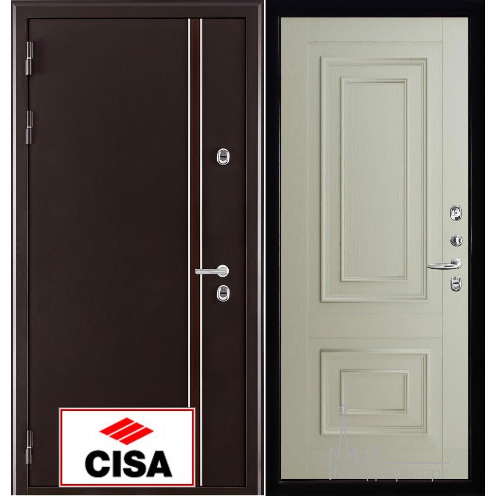 Норд (терморазрыв) панель 62002 серена светло серая замки Cisa с перекодировкой
