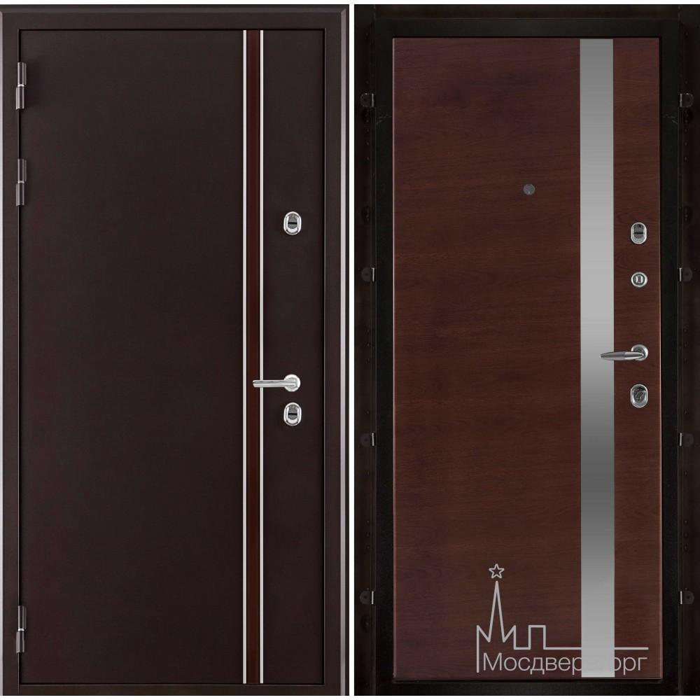 Норд (терморазрыв) панель UNO бренди натуральный шпон