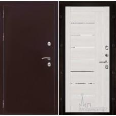 Термо-3 медный антик панель 2110 Капучино велюр с зеркальными вставками