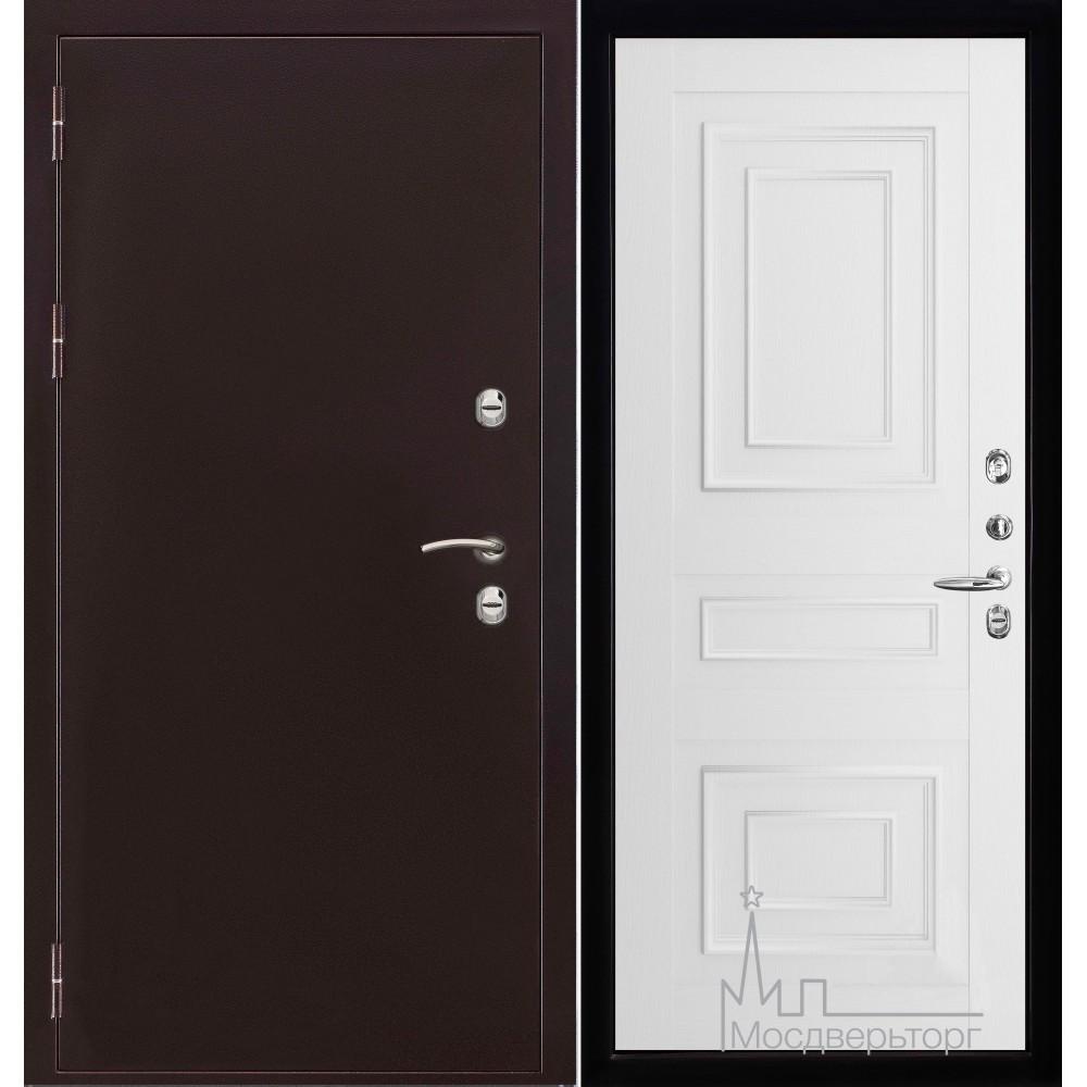 Термо-3 медный антик панель 62001 серена белый