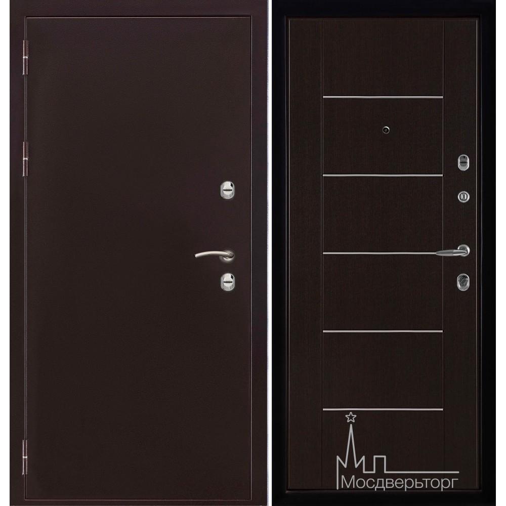 Термо-3 медный антик панель Лайт МD - 003  Венге