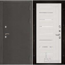 Термо-3 темное серебро панель 2110 Капучино велюр с зеркальными вставками