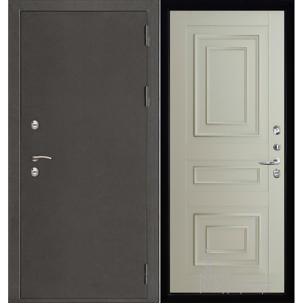 Термо-3 темное серебро панель 62001 серена светло-серый