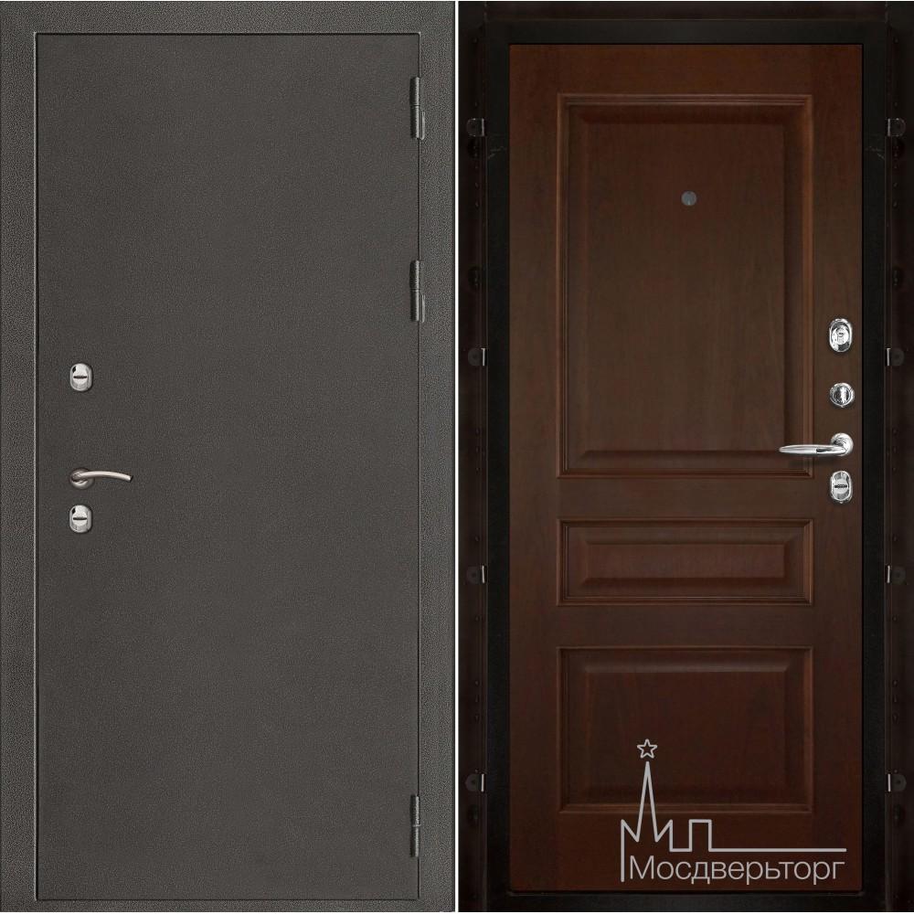 Термо-3 темное серебро панель Милан орех тон 2 натуральный шпон