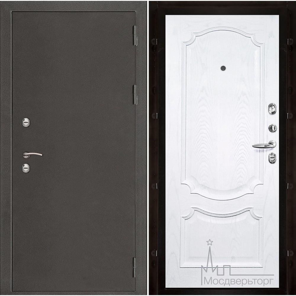 Термо-3 темное серебро панель Монако ясень жемчуг натуральный шпон