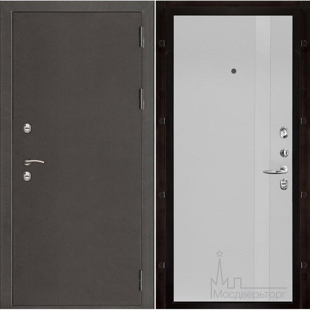 Термо-3 темное серебро панель Uno чиаро аргентум натуральный шпон