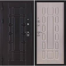 Входная дверь Консул внутренняя отделка ПВХ дуб светлый