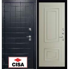 """Сенатор плюс, панель  62002 серена светло серый с замком """"Cisa"""""""