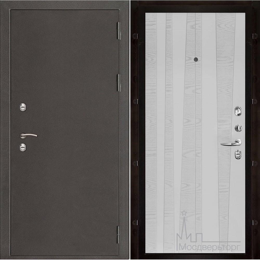 Термо-3 темное серебро панель Trend чиаро аргентум натуральный шпон