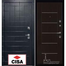 Сенатор-плюс, с замком Cisa панель Лайт МD - 003 венге