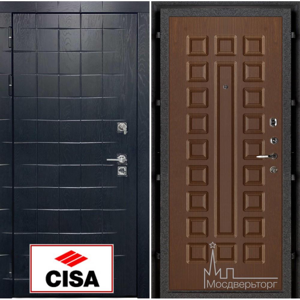 Сенатор-плюс, с замком Cisa панель Стандарт темный орех