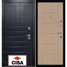 Сенатор-плюс, с замком Cisa панель Лайт МD - 003 беленый дуб