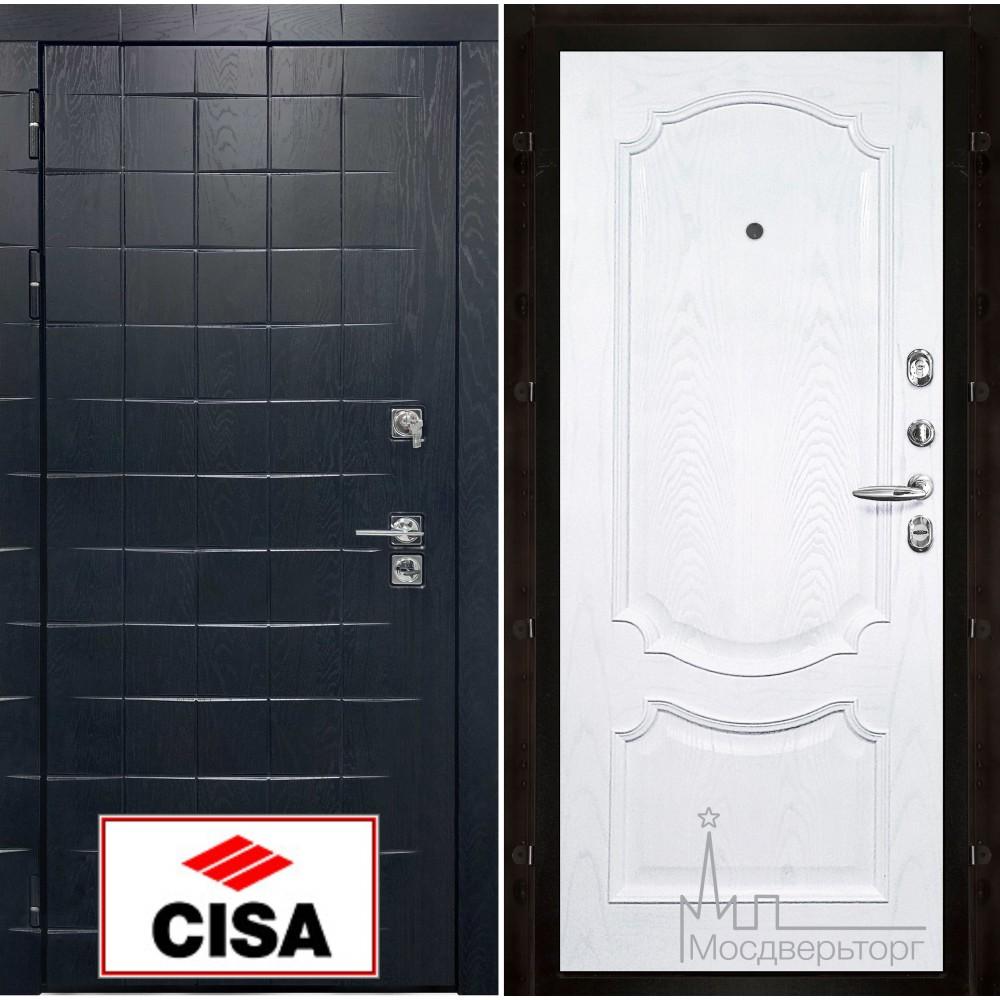 Сенатор-плюс, с замком Cisa панель Монако ясень жемчуг натуральный шпон