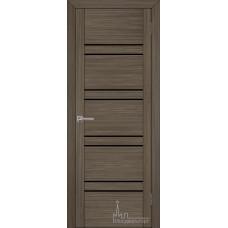 Межкомнатная дверь Экошпон 30026 графит велюр