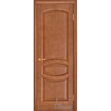 Межкомнатная дверь Анастасия тёмный анегри тон 74 глухая