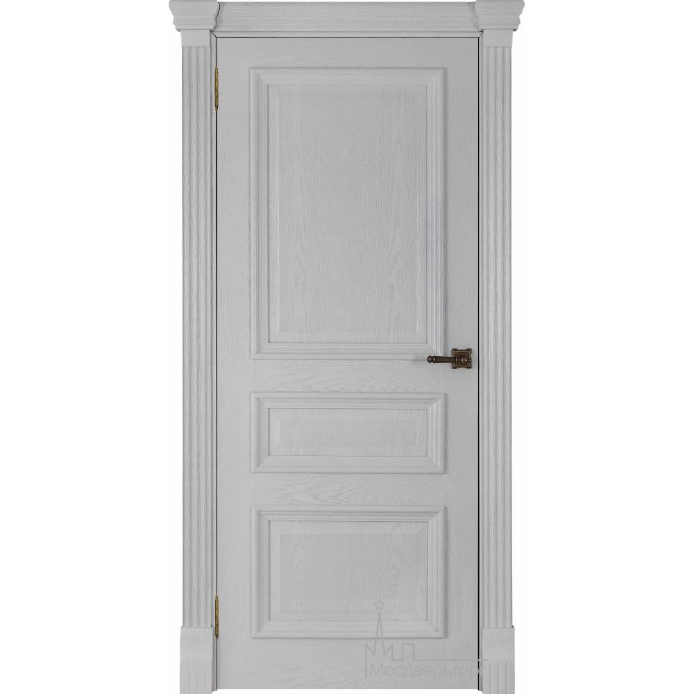 Межкомнатная дверь Барселона, дуб Perla, глухая