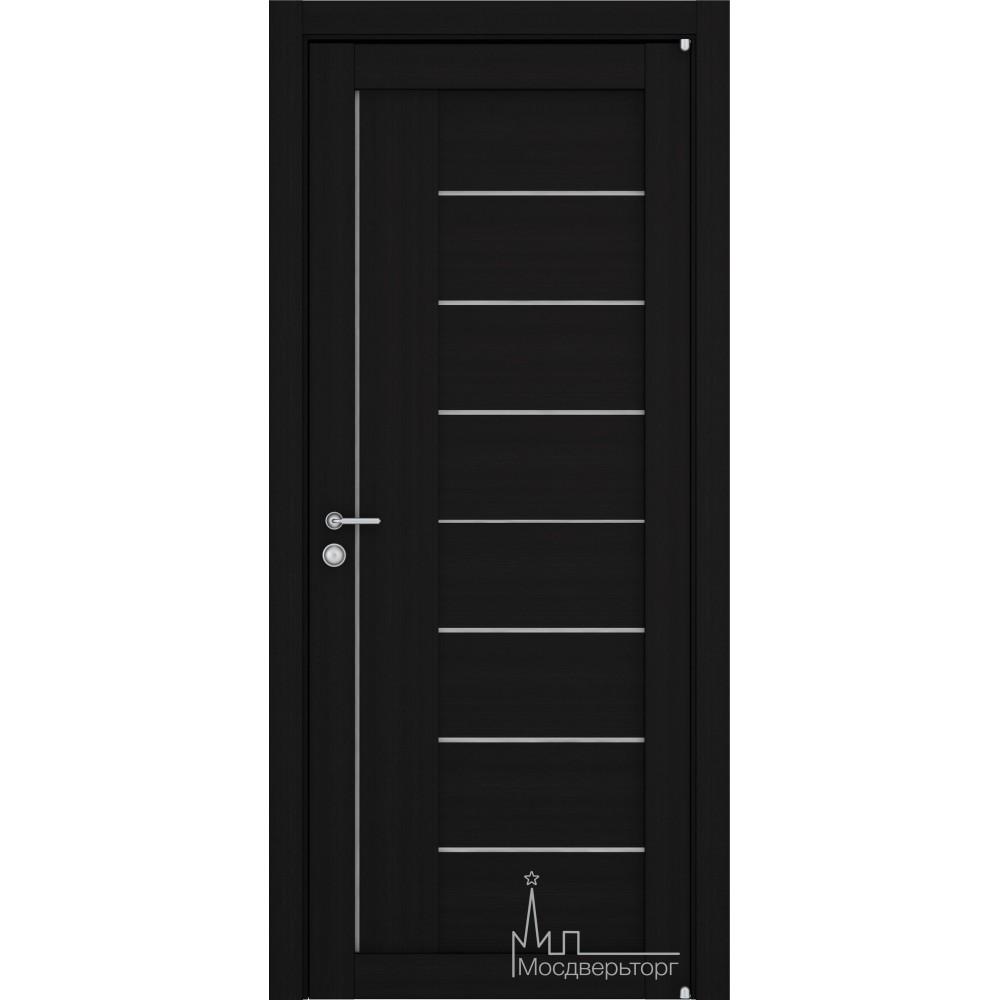 Межкомнатная дверь Экошпон 2110 шоко велюр