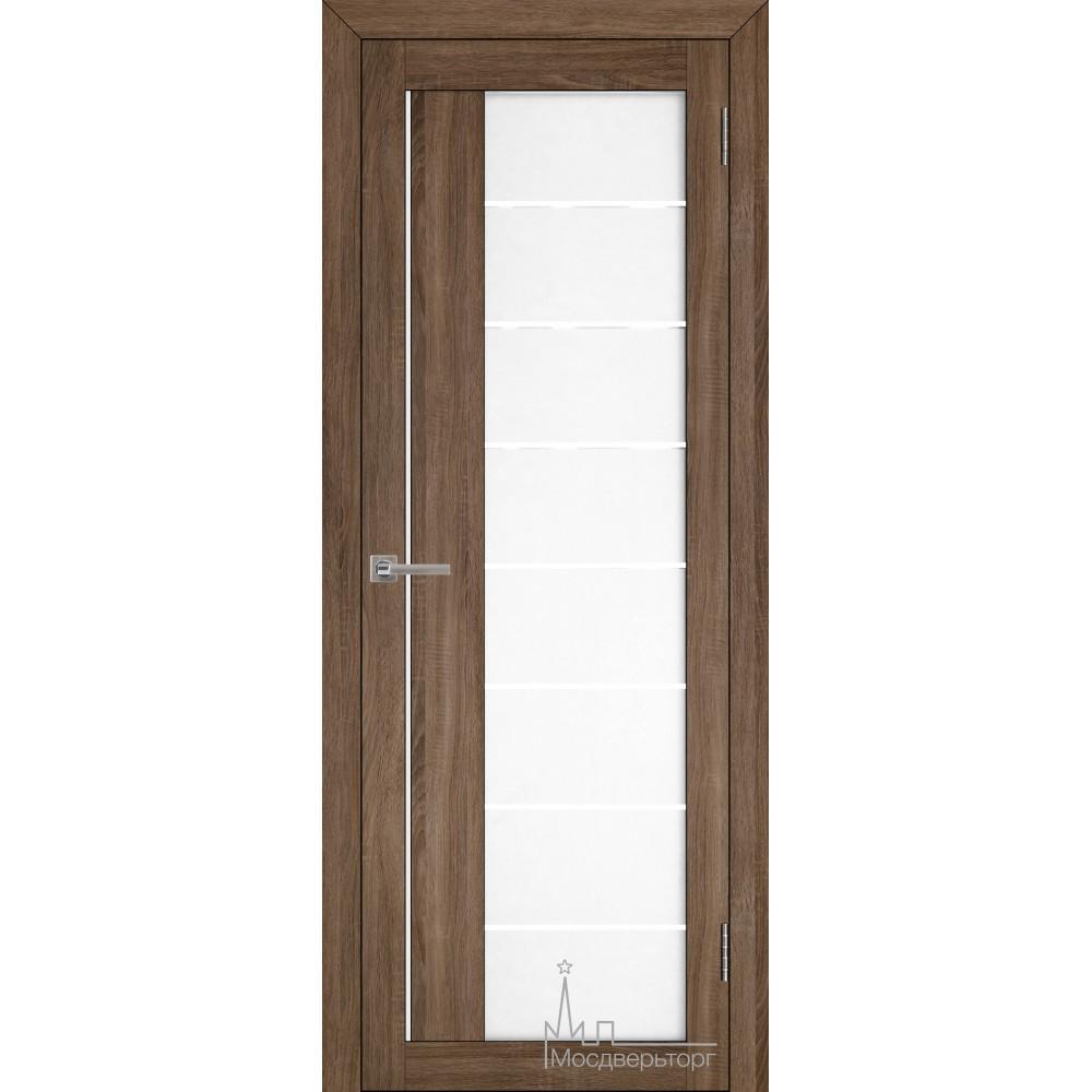 Межкомнатная дверь Экошпон 2112 серый велюр