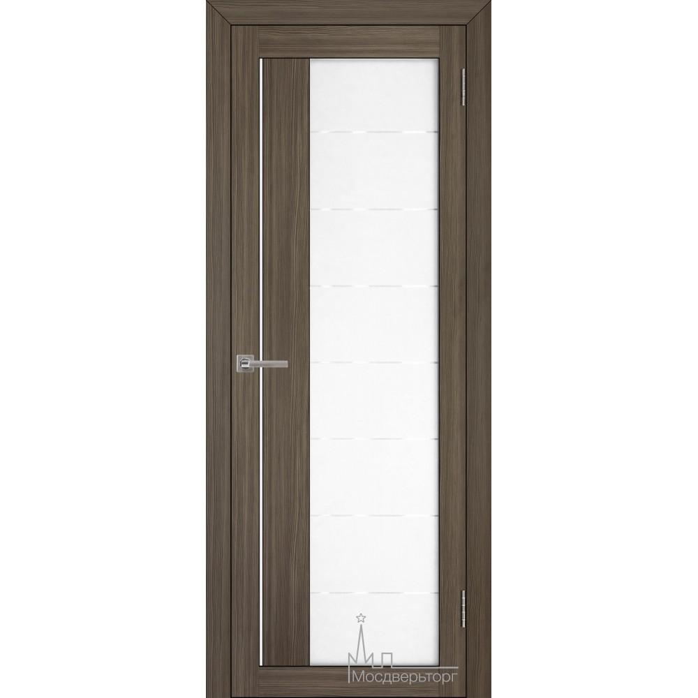 Межкомнатная дверь Экошпон 2112 велюр графит