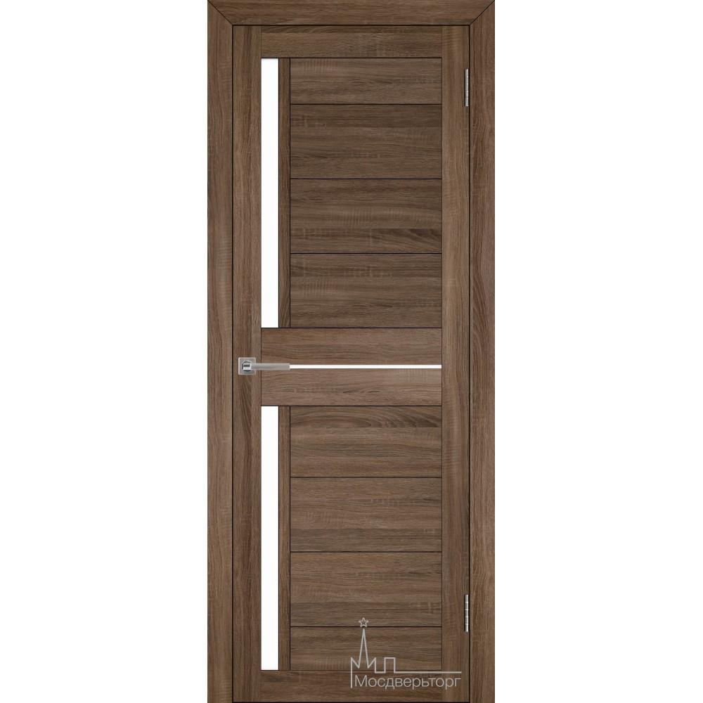 Межкомнатная дверь Экошпон 2121 серый велюр