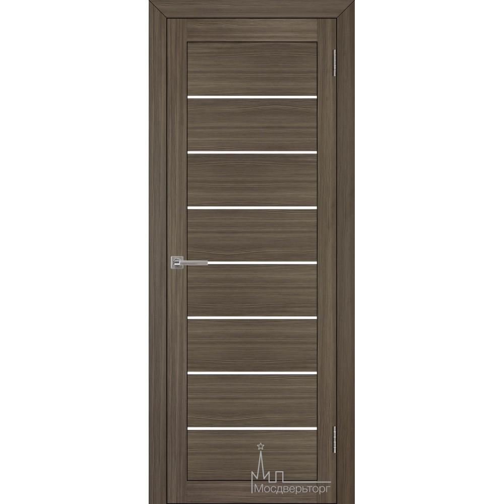 Межкомнатная дверь Экошпон 2125 велюр графит