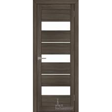 Межкомнатная дверь Экошпон 2126 велюр графит